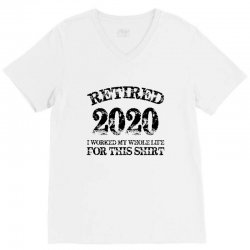 retired 2020 V-Neck Tee | Artistshot
