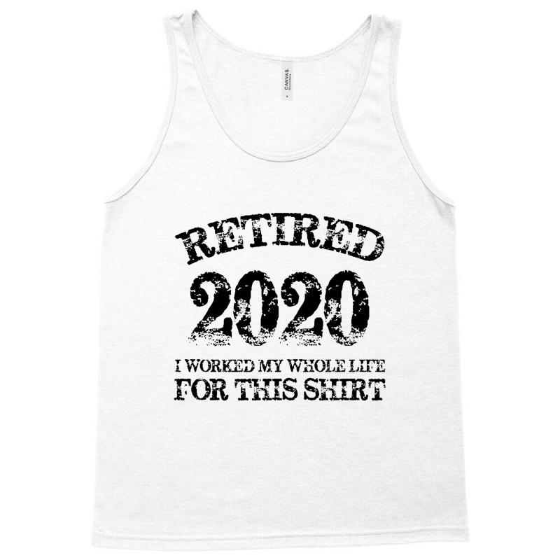 Retired 2020 Tank Top | Artistshot