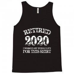retired 2020 Tank Top | Artistshot