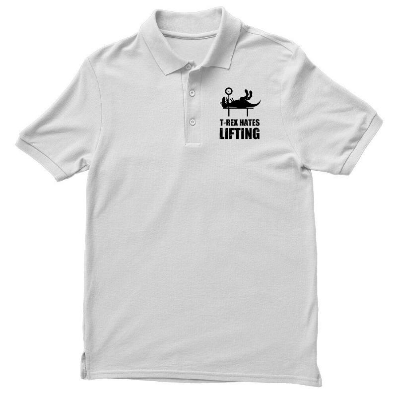 T Rex Hates Lifting Men's Polo Shirt | Artistshot