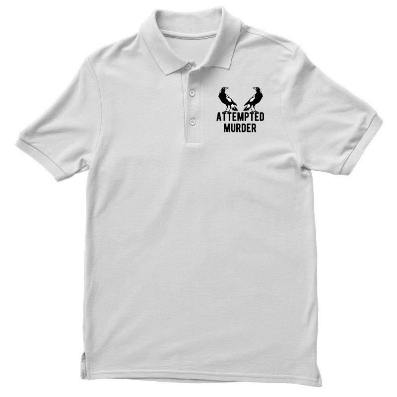 Two Crows Attempted Murder Men's Polo Shirt | Artistshot