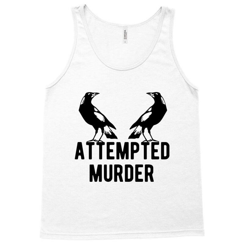 Two Crows Attempted Murder Tank Top | Artistshot