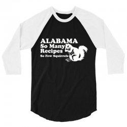alabama 3/4 Sleeve Shirt | Artistshot