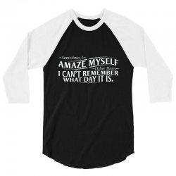 amaze myself 3/4 Sleeve Shirt | Artistshot