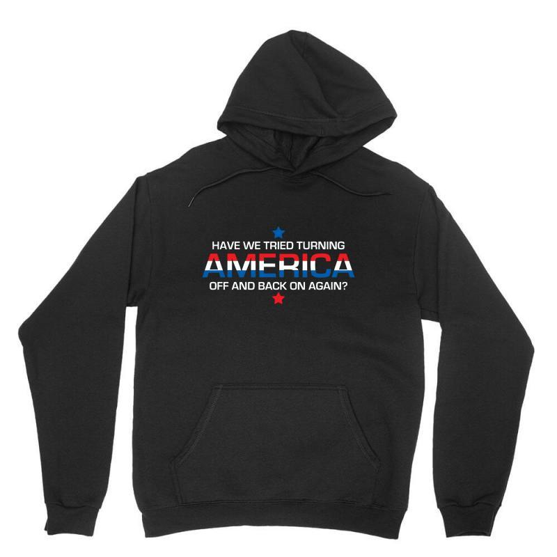 America Off Unisex Hoodie | Artistshot