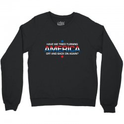 america off Crewneck Sweatshirt | Artistshot