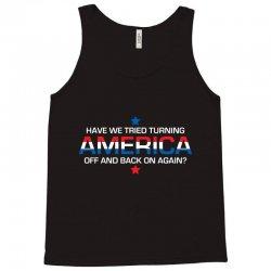 america off Tank Top | Artistshot