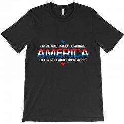 america off T-Shirt | Artistshot