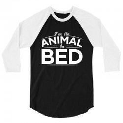 animal bed 3/4 Sleeve Shirt | Artistshot