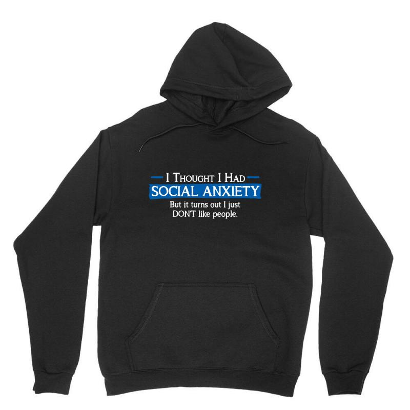 Anxiety People Unisex Hoodie | Artistshot