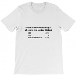 are there too many illegal T-Shirt   Artistshot