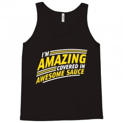 awesome sauce Tank Top   Artistshot