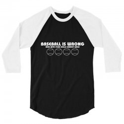 base ball 3/4 Sleeve Shirt   Artistshot