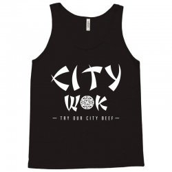 city wok on white Tank Top | Artistshot