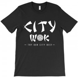 city wok on white T-Shirt | Artistshot