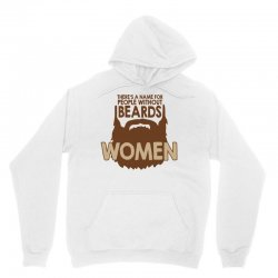 beard women Unisex Hoodie | Artistshot
