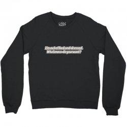 bed dressed Crewneck Sweatshirt | Artistshot