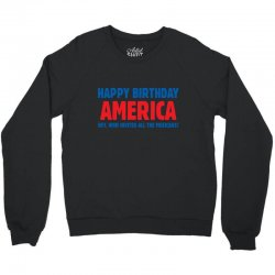 birthday usa Crewneck Sweatshirt | Artistshot