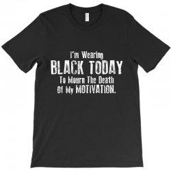 black today T-Shirt | Artistshot