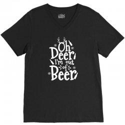 out of beer V-Neck Tee | Artistshot