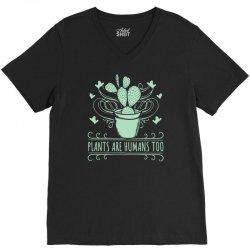 plants V-Neck Tee   Artistshot