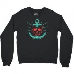 skull anchor Crewneck Sweatshirt | Artistshot