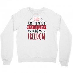 sound of freedom Crewneck Sweatshirt | Artistshot