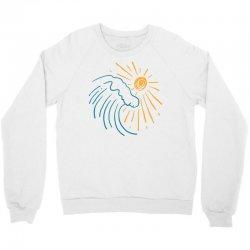 sun and wave Crewneck Sweatshirt | Artistshot