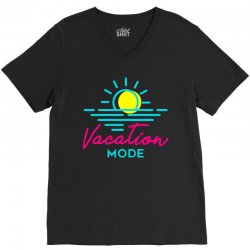 vacation mode V-Neck Tee   Artistshot