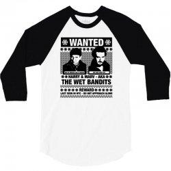 wet bandits t shirt home alone 3/4 Sleeve Shirt   Artistshot