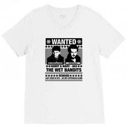 wet bandits t shirt home alone V-Neck Tee   Artistshot