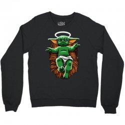 funny baby yoda  christmas Crewneck Sweatshirt | Artistshot