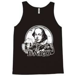 william shakespeare t shirt funny beer t shirt poetry bard t shirt Tank Top | Artistshot