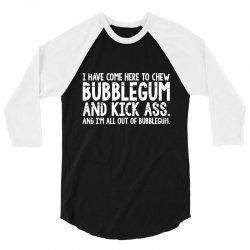 chew bubble 3/4 Sleeve Shirt | Artistshot