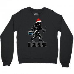 funny big drunk christmas party Crewneck Sweatshirt | Artistshot