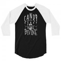 wine is divine 3/4 Sleeve Shirt | Artistshot