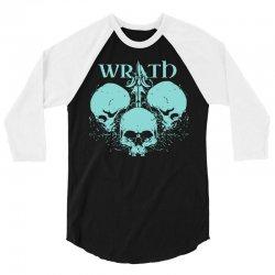 wrath 3/4 Sleeve Shirt | Artistshot