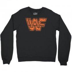 wwf t shirt wwf wrestling shirt vintage wrestling shirt 80s wrestling Crewneck Sweatshirt   Artistshot