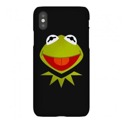 Funny Kermit Illustration Iphonex Case Designed By Rosdiana Tees