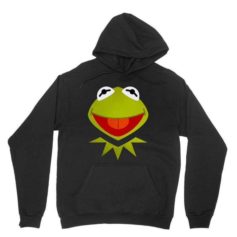 Funny Kermit Illustration Unisex Hoodie | Artistshot