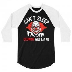 clowns eat 3/4 Sleeve Shirt   Artistshot