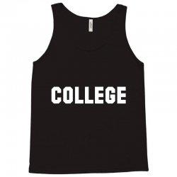 college Tank Top | Artistshot