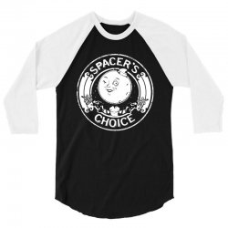 funny spacer's choice logo 3/4 Sleeve Shirt | Artistshot