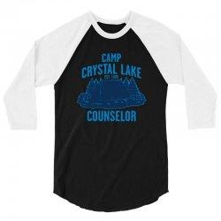 crystal lake 1 3/4 Sleeve Shirt   Artistshot