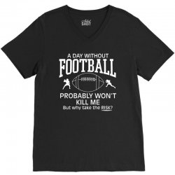 day football V-Neck Tee | Artistshot