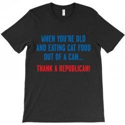 dem cat food T-Shirt | Artistshot