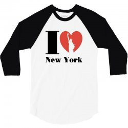 love new york 3/4 Sleeve Shirt | Artistshot