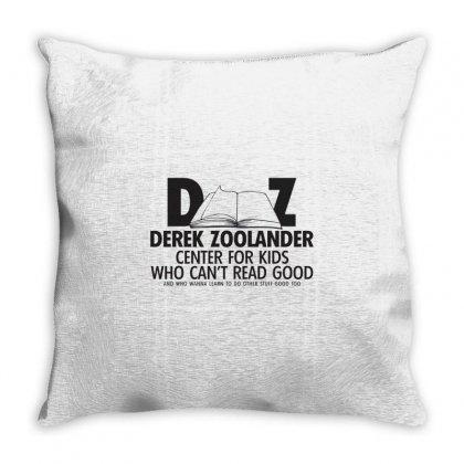 Derek Zoolander Throw Pillow Designed By K0d1r