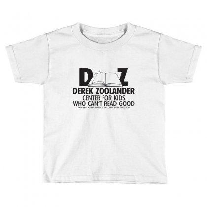 Derek Zoolander Toddler T-shirt Designed By K0d1r