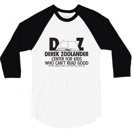 Derek Zoolander 3/4 Sleeve Shirt Designed By K0d1r